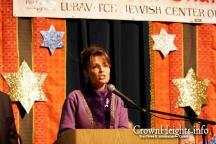Sarah Speaking at 2009 Chanukah in Alaska