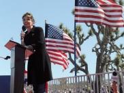 Sarah speaking at Nevada Tea Party