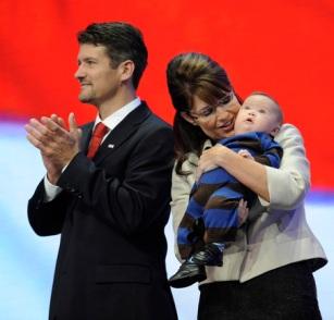 Sarah Palin, Todd Palin, Trig Palin