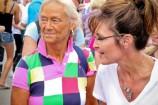 Sarah with Becky Beach at Iowa State Fair