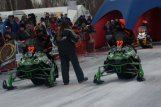 Team 22 Preparing to Start 2010 Iron Dog Race