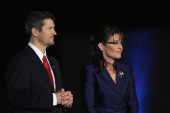 Todd and Sarah in Phoenix on election night