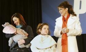 Sarah Palin, Willow Palin, Trig Palin, Piper Palin