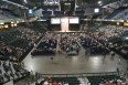 5000 in arena in St Charles MO for Palin-Beck event Oct 7 2011