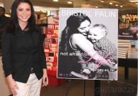 Bristol at her book signing in DC