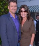 Closeup of Sarah and Todd at NBC party in LA