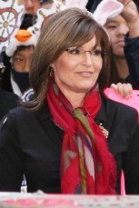 Closeup of Sarah outside on Today Show