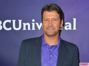 Closeup of Todd at NBC press party in LA