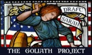 Goliath Project - Draft Sarah Poster