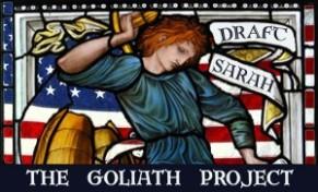 Goliath Project - Draft Sarah Poster