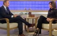 Matt Lauer interviews Sarah on Today Show