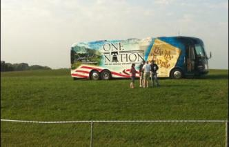 Photo 2 of One Nation bus at IA TPA event