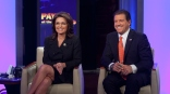 Sarah and Eric Bolling smiling on Pain at the Pump Special