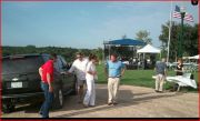 Sarah arrives at GOP fundraiser in Iowa - August 2012