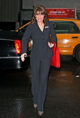 Sarah arrives at hotel in NYC after CPAC