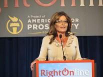 Sarah speaking at RightOnline 2012