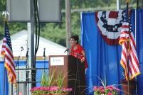 Sarah speaks at Michigan Tea Party event