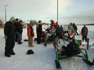 Team 11 in Tanana - Iron Dog 2012