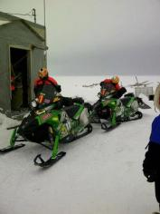 Team 11 in Unakaleet - Iron Dog 2012