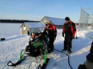 Team 11 in White Mountain - Iron Dog 2012