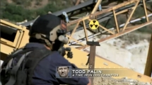 Todd and first target in Episode 2 of Stars Earn Stripes