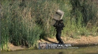 Todd hoists ammo box during Episode 1 of Stars Earn Stripes