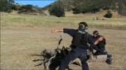 Todd throws smoke grenade during Episode 3
