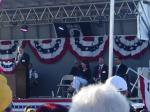 3Sarah sits on stage at Buckeye AZ Vietnam veteran memorial event