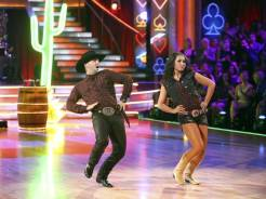 Bristol and Mark Dancing a Country Quick Step