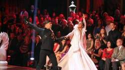 Bristol and Mark during Week 3 of DWTS All Stars