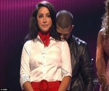 Bristol and Mark during Week 4 eliminatins - DWTS All Stars