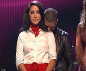 Bristol and Mark during Week 4 eliminations - DWTS All Stars