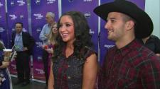 Bristol and Mark in Week 2 outfits at DWTS All Stars