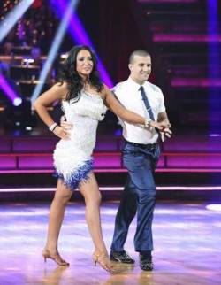 Bristol and Mark on Week 1 of DWTS All Stars