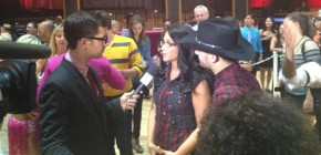 Bristol and Mark talk to reporter after Week 2 DWTS All Stars