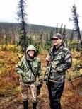 Bristol and Todd hunting