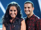 Closeup of Bristol and Mark in Western outfit during Week 2 of DWTS All Stars