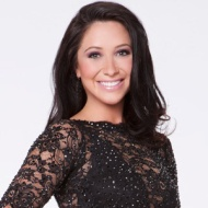Closeup of Bristol in DWTS Promo Photo