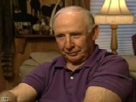 Closeup of Chuck Heath Sr with Lamp in Background