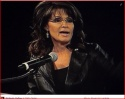 Closeup of Sarah speaking at Power Up Live in Idaho