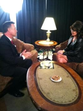 Don Nelson interviews Sarah on FOX9 in Idaho