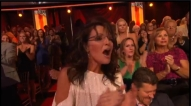 Gov. Palin cheers for Bristol during Week 4 DWTS All Stars