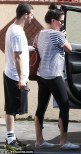Mark and Bristol arriving for rehearsal