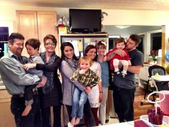 Palin Family - Thanksgiving 2012