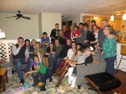 Palin-Heath Family Group Photo - Thanksgiving 2012