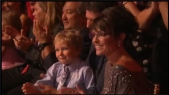 Sarah and Tripp in audience at DWTS All Stars