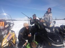 Sarah-Bristol-Piper-Trig-Tripp on Mothers Day on Mount McKinley
