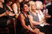 Sarah in audience at DWTS All Stars