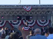 Sarah speaking at Buckeye AZ event