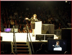 Sarah speaks at Power Up Live in Idaho